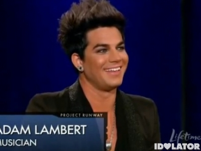adam lambert project runway