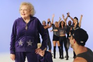 "Betty White And Luciana's ""I'm Still Hot"" Video: Go Behind The Scenes"