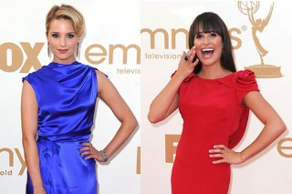 The Morning Mix: 'Glee' Cast Shines On The Emmy Red Carpet