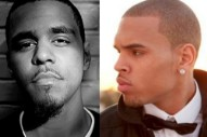 """J. Cole & Chris Brown Shine On DJ Drama's Synth Jam """"Undercover"""""""