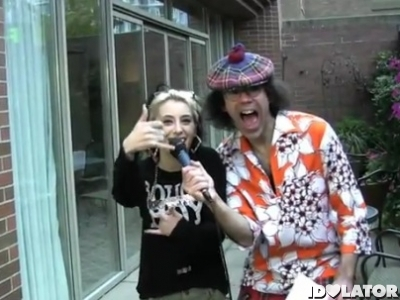 Kreayshawn Nardwuar The Human Serviette interview 2011