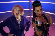 "Betty White Is On Fire In Luciana's ""I'm Still Hot"" Video"