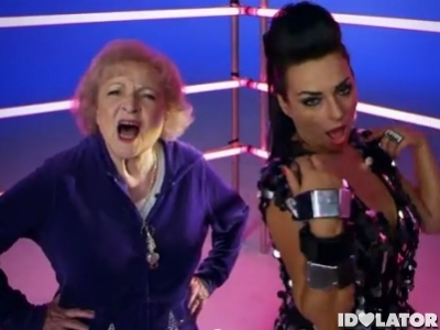 Luciana Betty White I'm Still Hot music video