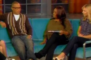 T.I. Promotes His Book And Sober Living On 'The View'