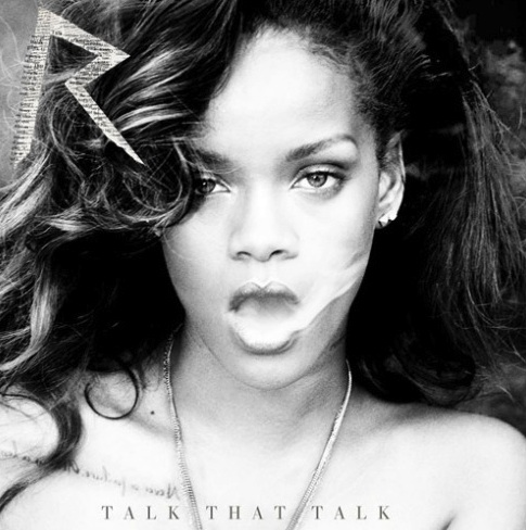 Rihanna Talk That Talk Deluxe album cover