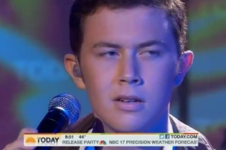 """Scotty McCreery Brings """"Trouble"""" To The 'Today Show'"""