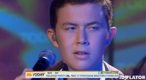 Scotty McCreery Today Show The Trouble With Girls