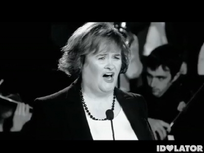 Susan Boyle You Have To Be There music video Susan Boyle