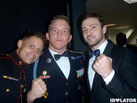 Justin Timberlake At Marine Corps Ball