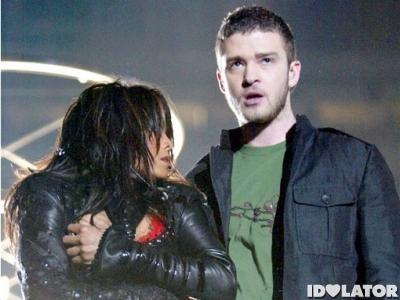 Janet Jackson Justin Timberlake Super Bowl wardrobe malfunction 2004