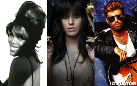 Janet Jackson Katy Perry George Michael