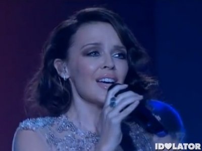 Kylie Minogue brunette The X Factor Australia I should Be So Lucky November 2011