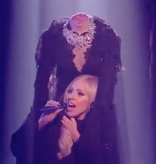 Lady Gaga The X Factor Marry The Night headless