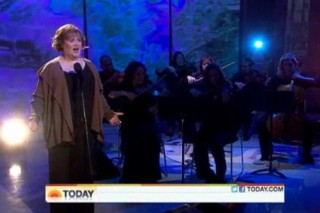 "Susan Boyle Looks At Life From ""Both Sides Now"" On The 'Today Show'"