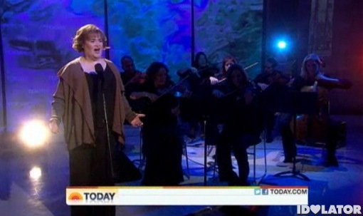 Susan Boyle Both Sides Now Today Show November 2011