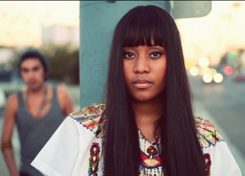 """VV Brown Enjoys A Carefree Day In L.A. In Her """"Children"""" Music Video"""