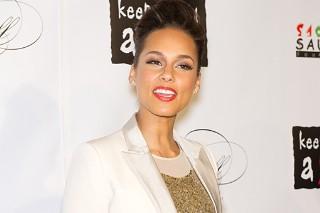 Alicia Keys Sparkles At The Keep A Child Alive Black Ball (PHOTOS)