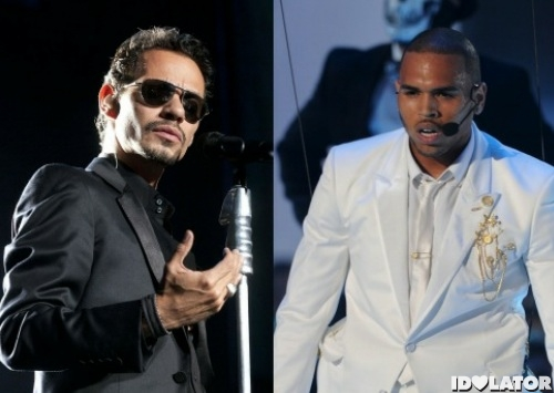 marc anthony ama chris brown