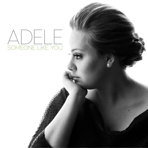 Adele Someone Like You single cover