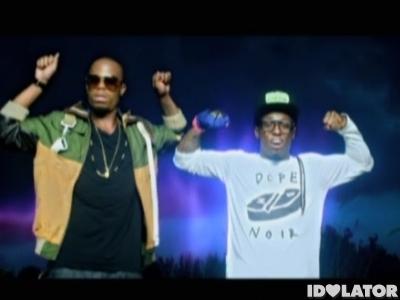B.o.B Lil Wayne Strange Clouds music video
