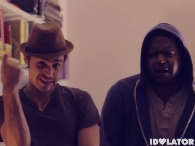 Kris Allen dubstep Christmas video