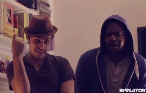 Kris Allen dubstep Christmas video