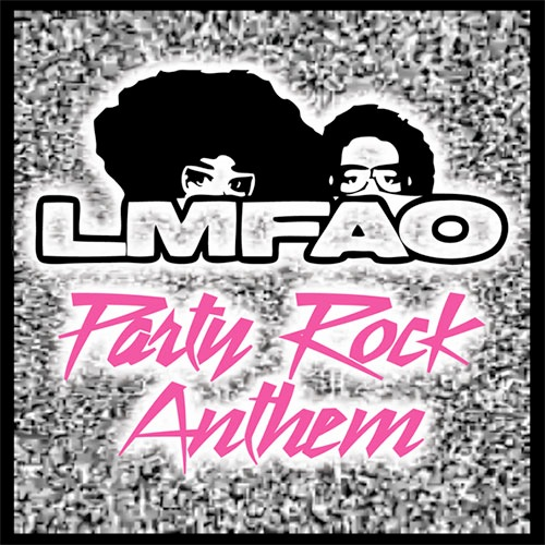 LMFAO Party Rock Anthem single cover