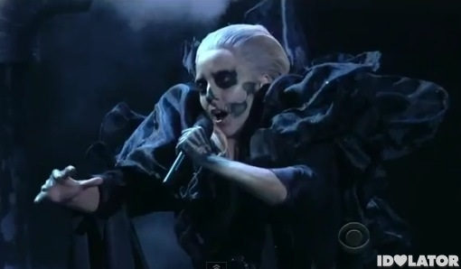 Lady Gaga Marry The Night Grammy Nominations Concert Live 2011