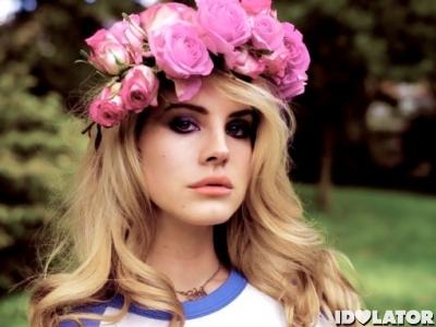 Lana Del Rey flowers