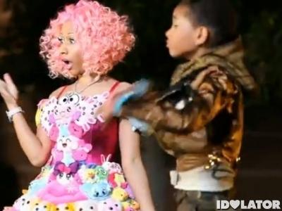 Nicki Minaj Willow Smith Fireball music video