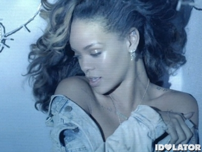 Rihanna We Found Love music video blue