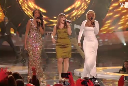 VH1 Divas Celebrates Soul 2011 Jennifer Hudson Kelly Clarkson Mary J. Blige
