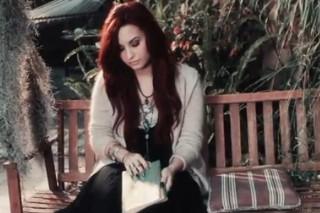 "Demi Lovato Appears In ""Give Your Heart A Break"" Lyric Video"