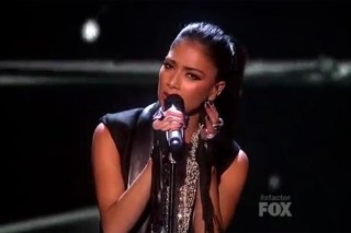 "Nicole Scherzinger Performs New Song ""Pretty"" On 'The X Factor'"