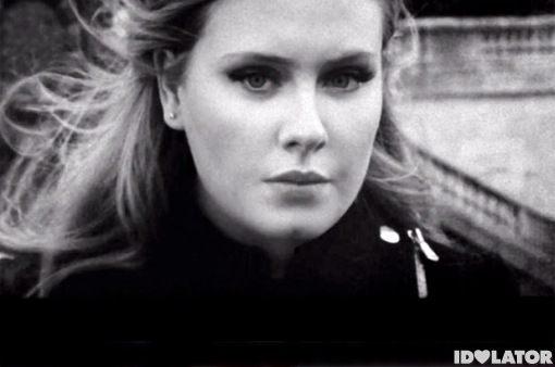 Adele Someone Like You face video
