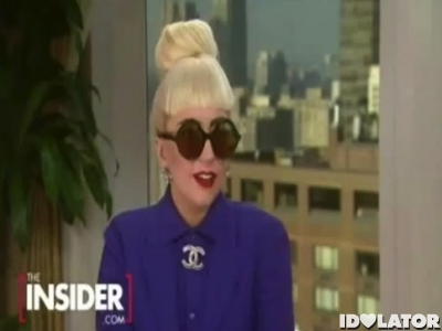 Lady Gaga interview The Insider 2012 new album
