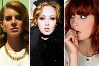Adele, Lana Del Rey, Florence & Jessie J Nominated For BRIT Awards