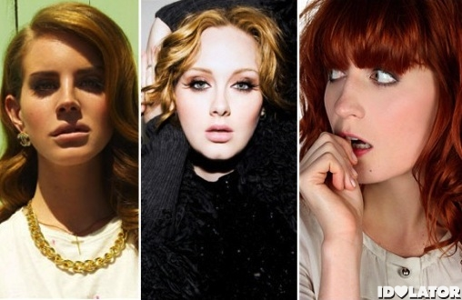 Lana Del Rey Adele Florence Welch