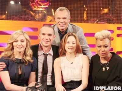 Madonna & Emeli Sande On 'The Graham Norton Show': Sneak Peek