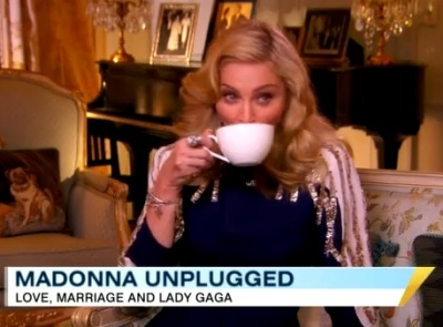 Madonna Good Morning America 2012 Lady Gaga reductive