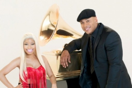 Nicki Minaj LL Cool J Grammy Awards 2012 2