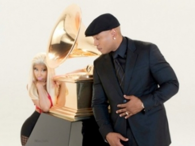 Nicki Minaj LL Cool J Grammy Awards 2012