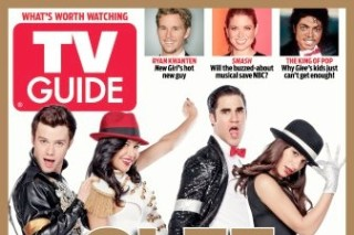 'Glee' Gears Up For Michael Jackson Tribute Episode With 'TV Guide' Cover (PHOTOS)