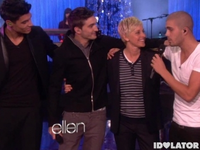 The Wanted Ellen DeGeneres Show Glad You Came