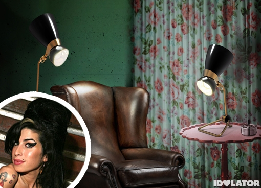 Amy Winehouse Lamp