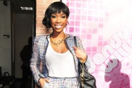 Brandy Drops By 'The Wendy Williams Show' (PHOTOS)