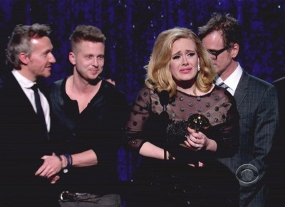 Adele 2012 Grammy Awards Album Of The Year 21 Ryan Tedder Paul Epworth