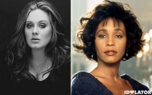 Adele Catches Up To 'The Bodyguard', Whitney Houston's Music Sales Explode