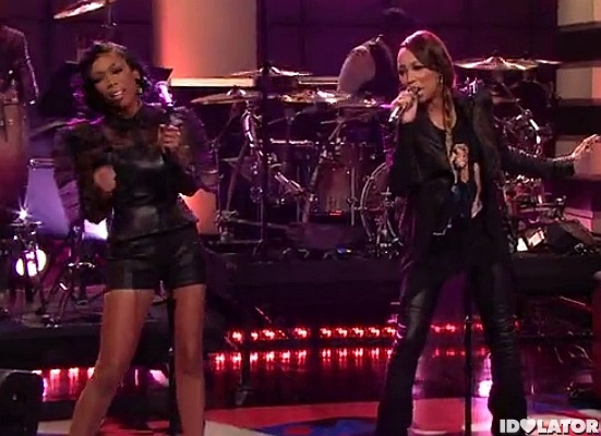 Brandy Monica It All Belongs To Me Tonight Show Jay Leno February 2012