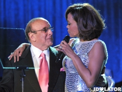 clive davis whitney houston 2011 grammy gala